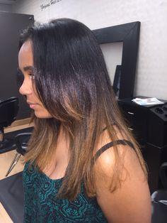 Ombré from SalonBlu @ Bella Luca Salon #ombre #bellabeauty #bellablu4hair #colorandcut