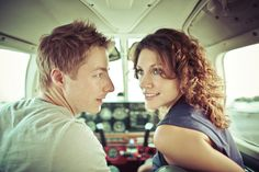 Aviation engagement pictures.