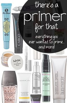 i use prime time, but this looks way informative... There's a Primer For That.... A ton of primers and multi-taskers!