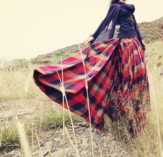 nouvelle collection automne 2014 sur réservation ,compte 20 jours après resception du paiement . jupe longue en coton.
