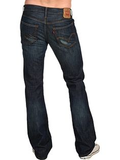 Levi's® Guys - 527™ Bootcut  then I put these on.