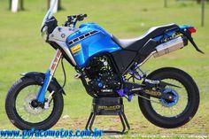 Yamaha XTZ 250 tenere supermotard   Polaco Motos - Preparações e Customização
