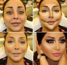 Makeup does make a difference