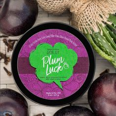 Scented with warm, spicy clove, cinnamon, and a hint of plum, this light shea and cocoa butter-filled body butter will leave you feeling blessed and blissed. Smooth on as much Plum Luck as you need and let the nourishing ingredients sink into your skin. Use daily for the softest skin (and maybe a little extra luck).  Fragrance: Warm, spicy clove and cinnamon with a hint of plum