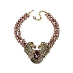 """Heidi Daus """"Off to the Races"""" 2-Row Beaded Crystal Drop Necklace at HSN.com"""