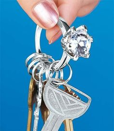 I want to be proposed to with a house key. just one. and that ring.