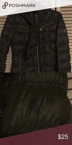 Michael Kors In fair condition. Has grease stains throughout. Includes dust bag. Michael Kors Jackets & Coats Puffers