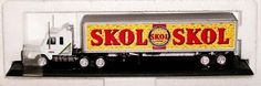Matchbox SKOL LAGER Beer Delivery Semi Truck    Die Cast  #Matchbox #none
