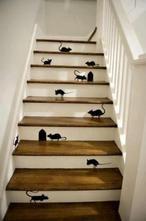 Witzige Idee für die Treppe