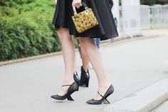 Threads Styling - Street Style - Dior - Giambattista Valli Couture 2014