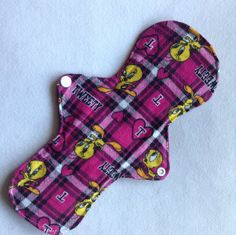 Sale3Cloth Pads 11' or 9 1/2 Cotton  Flannel by JuliansBoutique