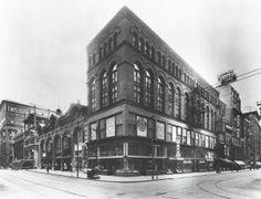 Northwest corner of Seventh and Locust Streets. (1930) Missouri History Museum