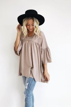 de1fa7f7b6fc Augustine Babydoll - love the shirt and pants but would love to see this  outfit with no hat and hair in a high pony braid french braids!