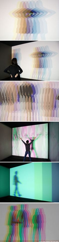 Olafur Eliasson | Multiple Shadow House 2010