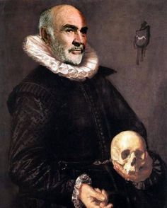 Renaissance Portraits of Famous Celebs  -Sean Connery