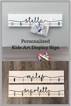 "Look What I Made Sign | 24"" Personalized Name Nursery Decor 