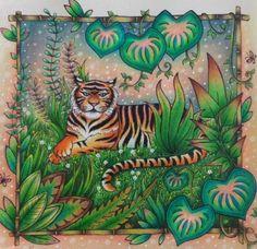 Magical Jungle tiger