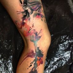 watercolor tattoo arm - Google Search