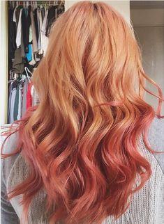 Long Beachy Wavy Hairstyle