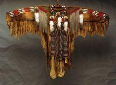 * AMERICAN NATIVES ORNAMENTS * Cheyenne war-shirt. * -