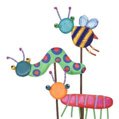 Assorted Bugs from The Round Top Collection...arriving next week to Trendy Tree!