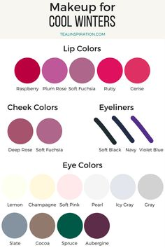 My main make up colors // Clear Winter Makeup Colors Soft Autumn Makeup, Soft Autumn Color Palette, Winter Makeup, Spring Makeup, Light Spring Palette, Soft Autumn Deep, Warm Autumn, Autumn Make Up, Color Type