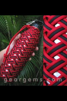 Paracord water bottle