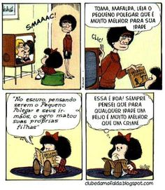 Mafalda e seus pesamentos