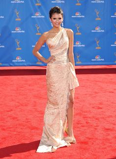 Nina Dobrev 62nd Primetime Emmy Awards (The Emmys) held at the Nokia Theatre