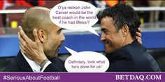 BETDAQ graphic used with #SeriousAboutFootball for the Champions League semi-final