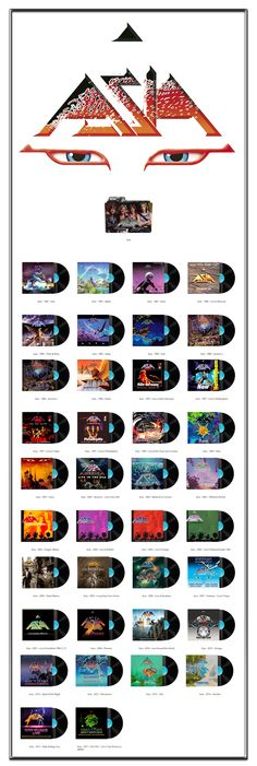 Album Art Icons: Asia