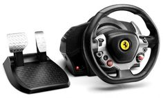 ThrustMaster TX Racing #Ferrari 458 Italia Edition El volante Force Feedback de consumo masivo que incorpora un motor brushless de clase industrial.