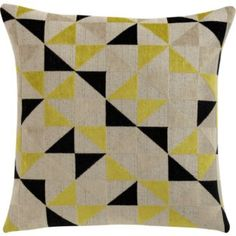 living room: hello pillow. I think you would look awfully classy on a gray sofa.