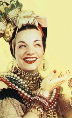 Carmen Miranda in Joseff Hollywood Jewelry