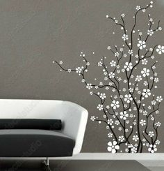 Cherry blossom branches flower wall decals walldecalmall for cherry blossom branches flower wall decals walldecalmall for the home pinterest flower wall decals wall decals and walls mightylinksfo