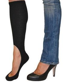 KEYSOCKS are for women and girls to wear with flats or high heels when wearing any choice of pant. This sock is the ultimate solution for keeping your feet warm and comfortable without showing you are wearing socks.