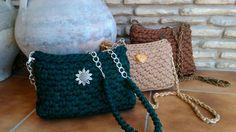 Crochet o ganchillo: COLECCIÓN STYLE BOLSOS DE TRAPILLO CON ESTILO.