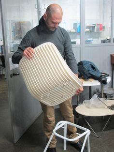 Odo Fioravanti: Dragonfly chair for Segis. Find more info on: http://www.segis.it/en/products/Dragonfly/