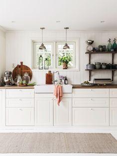 Decoración escandinava y rústica para una casa en plena naturaleza chicanddeco