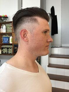 Liberated salon - Los Angeles, CA, United States. After shot, dat clean fade