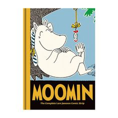 Moomin Book Eight: The Complete Tove Jansson Comic Strip  Lars Jansson returns with the eighth volume of the classic Moomin hardcover comic series, and the whole gang is back in action. Sniff is causing trouble with another of his get-rich-quick schemes, Snorkmaiden falls in love with the inspector's bad boy nephew, and Moominmamma is offering up plum cake to whosoever should need it.