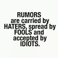 Dont be an idiot!