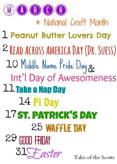 Free Month Clip Art | Month of march Saint Patrick's Luck ...
