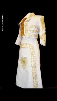 White Mariachi Dress. Beautiful!!
