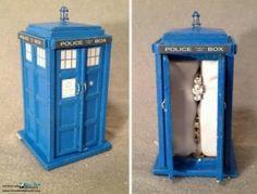 Custom TARDIS Engagement Ring Box [VIDEO] - ohgoodgod yes.