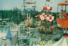disneyland '63 - this is what I remember Disneyland to be like!