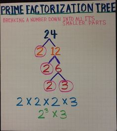 Prime factorization worksheets math and school prime factorization tree ccuart Images