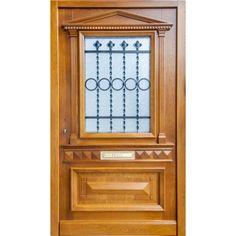 """Historische Gründerzeit Haustür Eingangstür """"Köln"""" Wrought Iron, Gates, Metal Working, Doors, Furniture, Home Decor, Wood Windows, Decoration Home, Metalworking"""