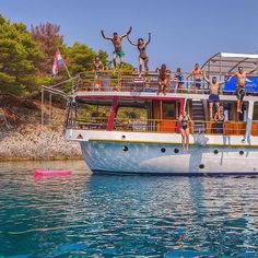This is basically how you'll spend your days in Croatia. Can you handle it? ☀️