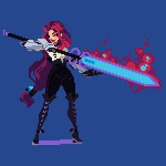 Blue Sword & Fire